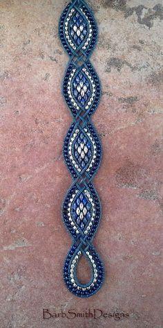 Half Tila Herringbone Bracelet
