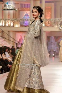 #ahsan iqbal#pakistani designer on pentene #bridal coutour week #2015june pinned by #sidra younas