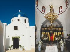 Summer destination wedding in Santorini | Maria & Konstantinos - Love4Wed