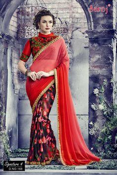 D.NO.168 #sarees,#saris,#indianclothes,#womenwear, #anarkalis, #ethnicwear, #fashion,#sarojtextiles#indiandesigners, #asianbride,#couture, #fashion