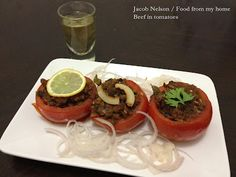 Beef in tomatoes