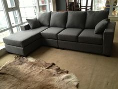 Customize your sectional.    You pick the fabric, leather, firmness, etc  Compare at $2000 or more