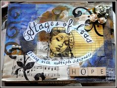 MULTIPLE SCLEROSIS ART JOURNAL COVER by Daniella Hayes, via Flickr