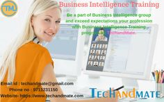 Business Intelligence Training Certification Course from TechandMate is expected to give bits of learning on different contraptions in Microsoft Suite (SQL Server Analysis Services, SQL Server Integration Services, SQL Server Reporting Services).