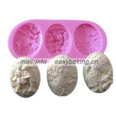 Lady Avatar Polymer Clay Artesanato Cameo Cabochão Molde de Silicone Bolo Decoração Fondant Ferramentas De Bolo de Chocolate em   de   no AliExpress.com | Alibaba Group