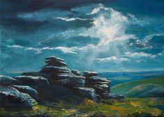 Buy Birch Tor, Dartmoor, Acrylic painting by Daniel Loveday on Artfinder. Discover thousands of other original paintings, prints, sculptures and photography from independent artists.