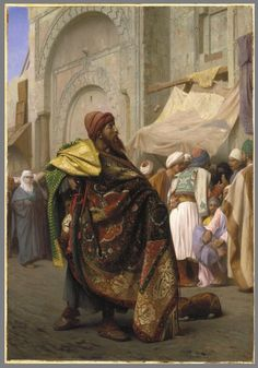 The Carpet Merchant - Jean-Leon Gerome - WikiPaintings.org