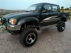 Toyota Hilux, body type Pickup and for sale, Best cyprus cars Cyprus Cars, Free Cars, Toyota Hilux, Pick Up, Car Ins, Cars For Sale, 4x4, Monster Trucks, Type