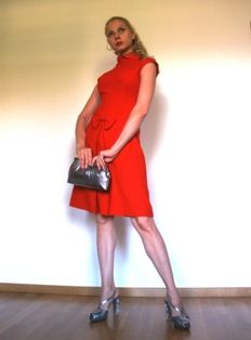 Dress: Valentino   Bag: gunmetal leather that I got made in India   SHOES: NEW PRADA