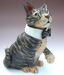 Image result for pottery cats