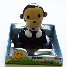 Solar-Powered Never End Dancing Monkey BR no battery needed 3 | www.balligifts.com