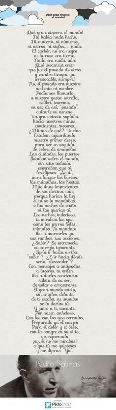La imprenta de Clío: Gotas de poesía: Pedro Salinas