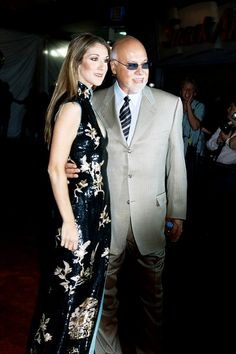 Celine Dion and Rene Angelil. <3 <3 <3