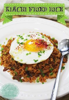 Must try recipe!! Best Kimchi Fried Rice Recipe : Asian at Home
