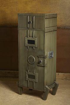 Modern Storage Cabinet Steampunk Style