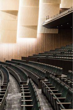 Theatre Architecture, Space Architecture, Theatre Design, Stage Design, Theater, Auditorium Design, Multipurpose Hall, Lecture Theatre, Virtual Studio