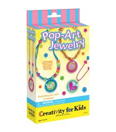 CREATIVITY FOR KIDS-Pop Art Jewelry. You can make over three pieces of jewelry…