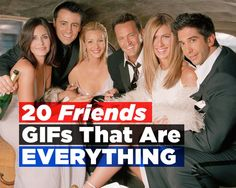 20 Friends GIFs That Are EVERYTHING | Women's Health Magazine