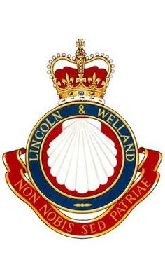 The Lincoln and Welland Regiment - Wikipedia Canadian Army, British Army, Military Pins, Military Service, Madonna, Order Of The Garter, Military Insignia, Family Crest, Brand Identity Design