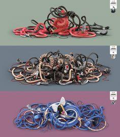 Agency: Memac Ogilvy & Mather, Bahrain / 3D Illustration: Mark Gmehling