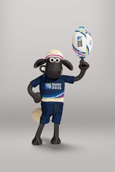 PR: Shaun the Sheep Scores With Rugby World Cup 2015 Partnership
