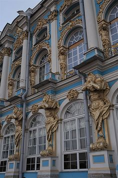 Catherine Palace - Tsarskoye Selo, Russia