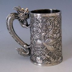 dragón taza, C 1850..