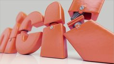 3D Animation 'Nickelodeon Lightswitch Ids' by Dalmiro Buigues, via Behance