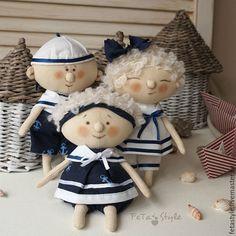 Купить Юнга Кукла текстильная Детский сад на море - юнга, юнга кукла купить