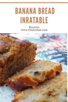 Healthy Banana Bread, What To Cook, Healthy Breakfast Recipes, Love Food, Sweet Tooth, Vegan Recipes, Brunch, Food And Drink, Yummy Food