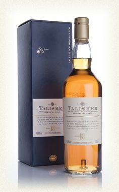 (A) Talisker 18 (Highlands/Isle of Skye): Soft and sweet on the nose: the signature sweet peat of Talisker, but fruitier and more refined. On the palate: continued smoke and peat with notes of brine, pepper, and dark spices. A sophisticated Talisker whose finish doesn't lose the fiery punch of the younger expressions. Just a fantastic whisky.
