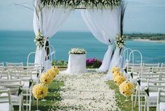 wedding ceremony decorations from beach - Yahoo Image Search Results Edgy Wedding, Bali Wedding, Wedding Styles, Wedding Reception, Dream Wedding, Wedding Ceremony Decorations, Table Decorations, Beach Gowns, Beach Wedding Inspiration