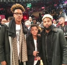 Those are Shaq's kids….