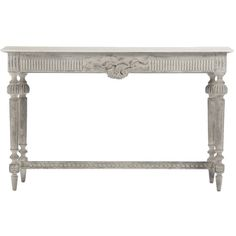 Vintage Swedish Console Table ($1,795) ❤ liked on Polyvore featuring home, furniture, tables, accent tables, console, wood furniture, wooden console table, wooden accent table, wood accent table and floral furniture