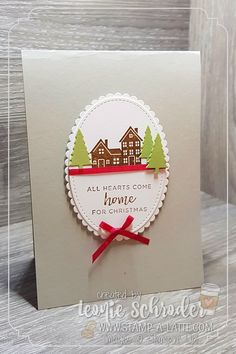 hearts come home beautiful christmas cardschristmas cards 2017stampin