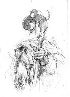 // Sketchbook of Paul Bonner