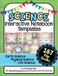 Science Interactive Notebook Templates - see more at http://www.teacherspayteachers.com/