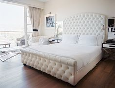 white headboards and footboards