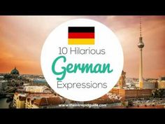 Learn how to speak German with these hilarious German expressions and German phrases. These German idioms will have you in stitches. German Language Learning, Language Study, Language Quotes, Learning Languages Tips, Learning Resources, Learn Languages, Funny German Phrases, Germany Language, Idiomatic Expressions