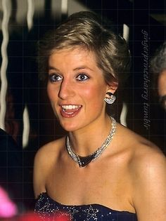 Diana/•••• Oh! I do love this picture of her. Candid. Unposed. Natural. Enjoying herself it seems.
