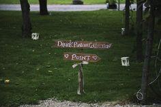 Drunken partner collection point
