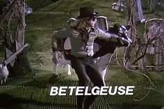 ❤ the afterlife's leading bio-exorcist. CALL NOW! #gif #beetlejuice #timburton #michaelkeaton #movies