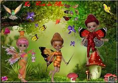 Fantasy Fairies, Square Card, Fairy Dolls, Cookies, Christmas Ornaments, Holiday Decor, Sweet, Cards, Baby