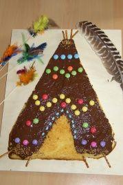 Kuchen Indianerzelt