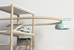 designer möbel Burak Kocak wohnzimmer sofa mit lampe