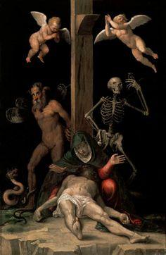 Allegory of the Redemption, ca. 1585-87                    Jacopo Ligozzi