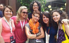 28/06/2013 | #webreevolution #Roma con Cristina Saponaro | Michaela Matichecchia | Verónica Gentili | Valentina  Falcinelli | francesca mattia #futurosemplice