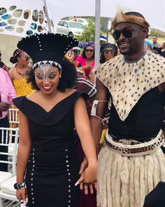 Couple In Xhosa And Zulu Traditional Wedding Attire Modern Traditional African . African Wedding Attire, African Attire, African Fashion Dresses, African Dress, African Style, African Traditional Wedding Dress, Traditional African Clothing, Traditional Wedding Attire, Traditional Dresses Designs