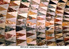Italie, Venise, basilique, Saint-Marc, mosaïque, de, marbre, unité administrative, sol Voir Image Grand Format