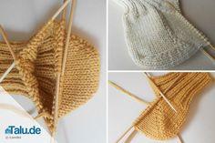 Socken stricken ist nicht immer einfach - vor allem die Fersen. Diese einfache DIY-Anleitung verrät Ihnen zwei Varianten, wie Sie die Ferse stricken können.